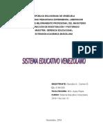 ESQUEMA Sistema Educativo Venezolano