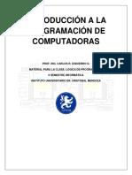 Introducción a la programación de computadoras