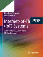 Internet-of-Things (IoT) System Architectures, Algorithms, Methodologies.pdf
