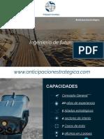 Presentación de negocios y portafolio anticipación estratégica