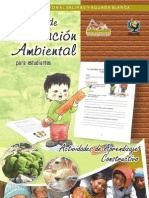 Manual de ED. Ambiental de La RNSAB Nivel Primario