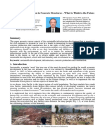 Sustainable Construction in Concrete Structures - Keynote Paper FX Supartono IABSE Guangzhou 2016