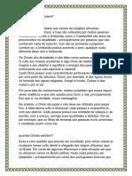 Quantos Orixás existem crença das religiões afro brasileiras