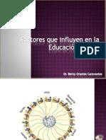 Factores Que Influyen en La Educacion Virtual