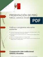 A- PRESENTACIÓN DE PERÚ