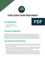 The Lean Gain Program_ Shredded for Life™