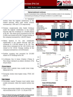 Daily Market Update 01.12