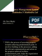Performance Management System Mahindra N Mahindra Ltd
