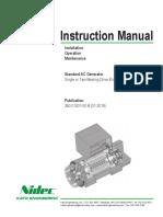 Instruction Manual Standard AC Generator Kato Engineering