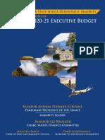 NYS Senate Majority Staff Analysis of the 2020-21 Executive Budget Proposal