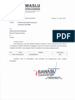 Rekomedasi Staf Pendukung Pengelola Aset BMN