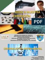 DIAPOSITIVAS EXPOSICION CRIMINALISTICA INSTRUMENTAL