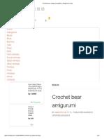 Crochet bear amigurumi pattern _ Amiguroom Toys