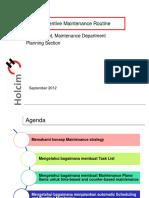 01.Preventive Maintenance Routine_24.09.2012