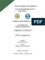 cuaderno obras civiles