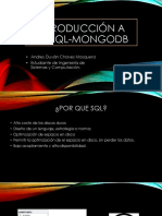 Introduccion a NoSql-Mongodb