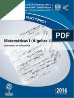 Algebra Lineal tec