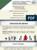 exposicion tipologia  de grupo .pptx