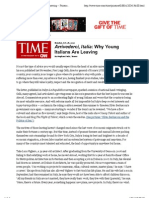 708033388a7df Why Young Italians Are Leaving -- Printout -- TIME