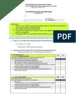 Environment Form 1.0