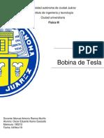 Bobina de tesla REPORTE pdf