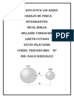 UNIDA EDUCATIVA LOS ANDES FISICA