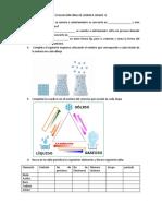 EVALUACIONES DE BIOLOGIA Y QUIMICA SECUNDARIA