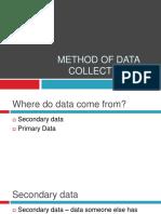 methodofdatacollection-140926022438-phpapp01