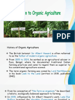 Introduction to Organic Agriculture lecture