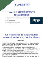 Stoichiometry Keynote