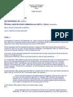 G.R. No. 110861, ORO ENTERPRISES VS NLRC