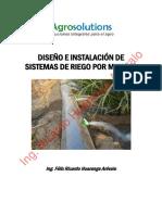 Manual Diseño e Instalación de Mangas por Ing Ricardo Huaranga Arévalo