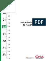 B2 First - FCE Instruções Invigilator.pdf