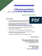 Clinical Effectiveness Bulletin 46, November 2010