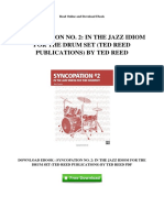 syncopation-no-2-in-the-jazz-idiom-for-the-drum-set-ted-reed-publications-by-ted-reed