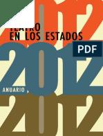 Teatro en los estados. Anuario 2012