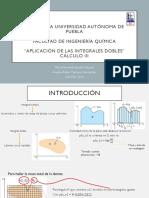 Aplicación de Las Integrales Dobles2.1
