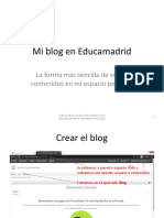 Mi blog en Educamadrid