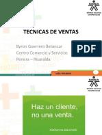 INTRODUCCION TECNICAS EN VENTAS - CLASIFICACION PRODUCTOS.pptx