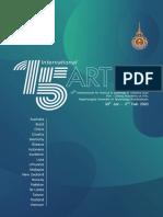 15th International Art Festival & Workshop in Thailand 2020