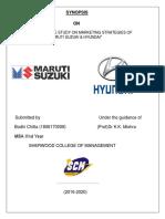 SYNOPSIS on Maruti & Hyundai