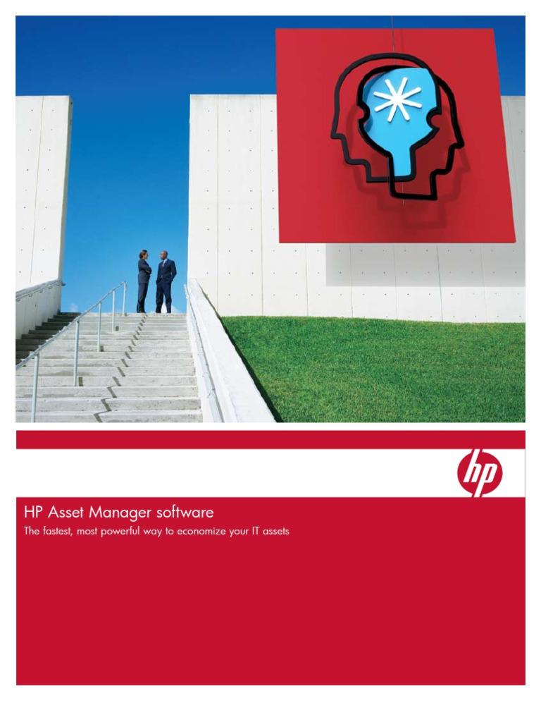 Hp Asset Manager Software Itil Data Center