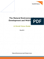 The Natural Environment in Development and Well-Being