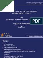 Social Inclusion IPA Macedonia