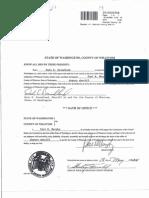 WCSO Oath of Office -  Deputy Sheriff