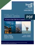 OilServiceFactBook-Mar2014 مطالعه بازار