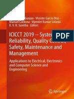 Vinit Kumar Gunjan, Vicente Garcia Diaz, Manuel Cardona, Vijender Kumar Solanki, K. V. N. Sunitha - ICICCT 2019 – System Reliability, Quality Control, Safety, Maintenance and Management_ Applications .pdf
