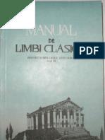 Manual de Limbi Clasice Anul III