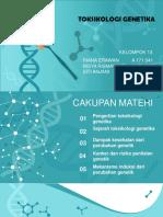 Toksikologi genetika kel 13