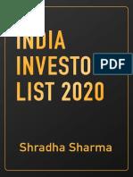 India Investors list 2020.pdf